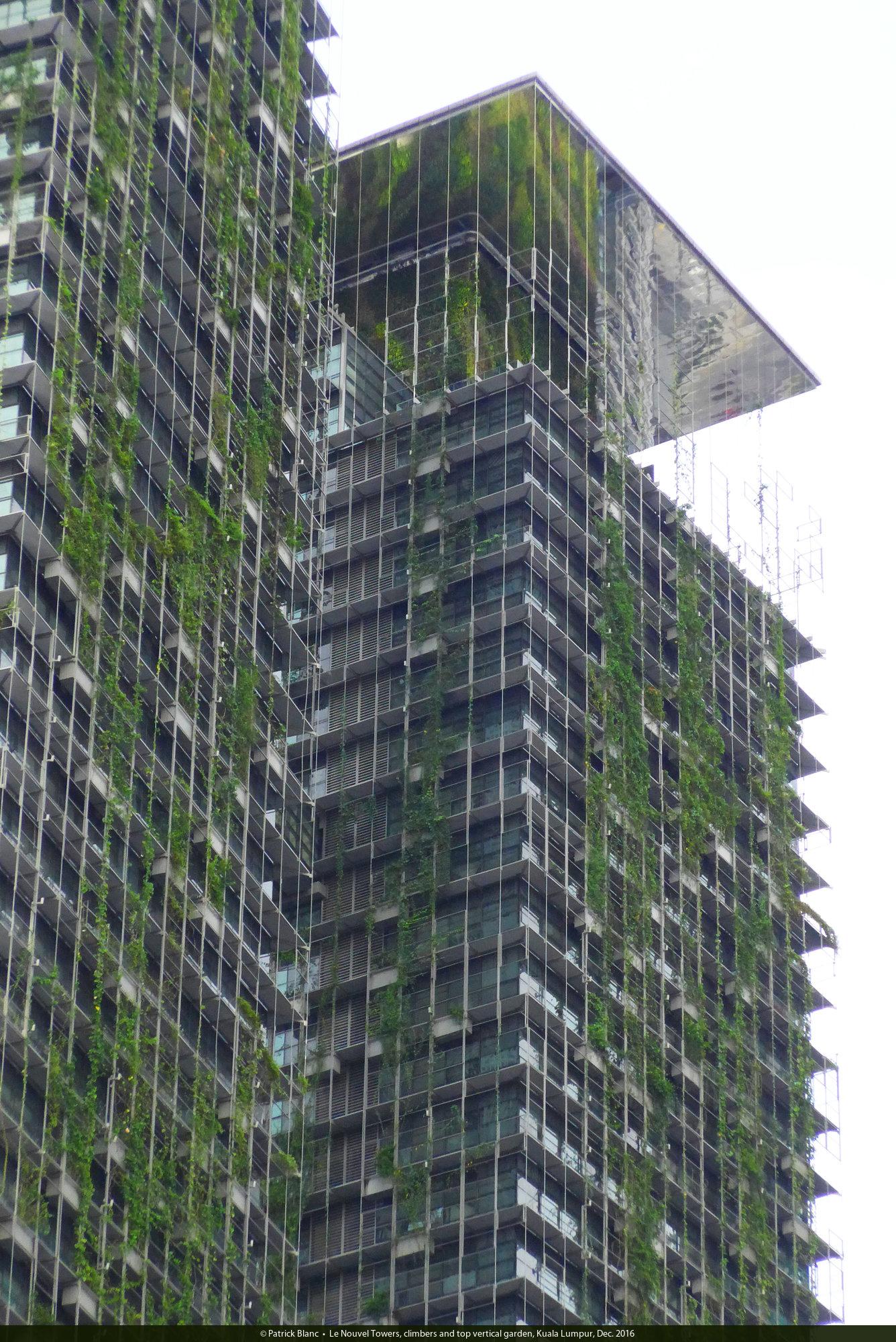 Le Nouvel Kuala Lumpur Vertical Garden Patrick Blanc