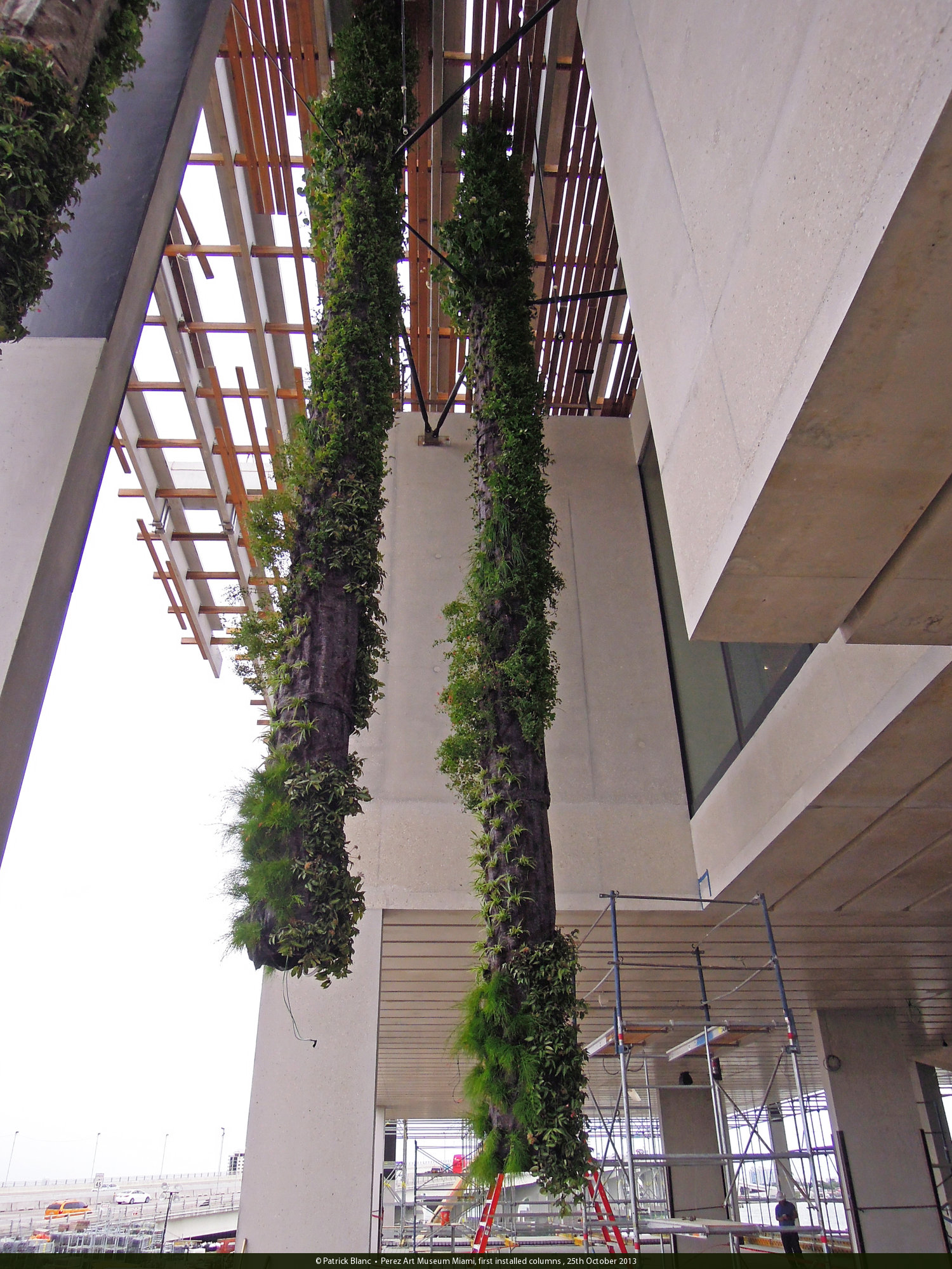 Prez Art Museum Miami Vertical Garden Patrick Blanc