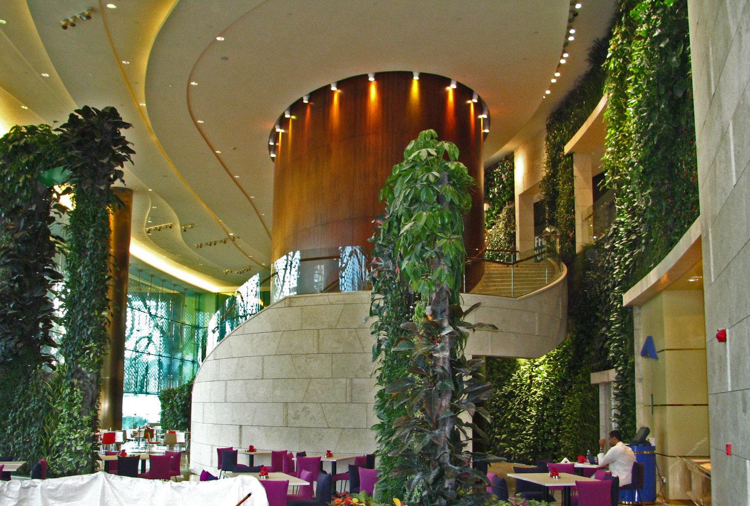 Proyectotal muros verdes una medicina para el 39 edificio for Materiales para un muro verde