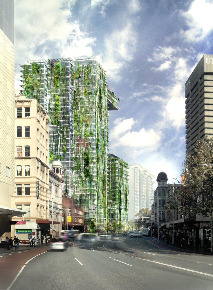 Side By Sides >> One Central Park, Sydney | Vertical Garden Patrick Blanc