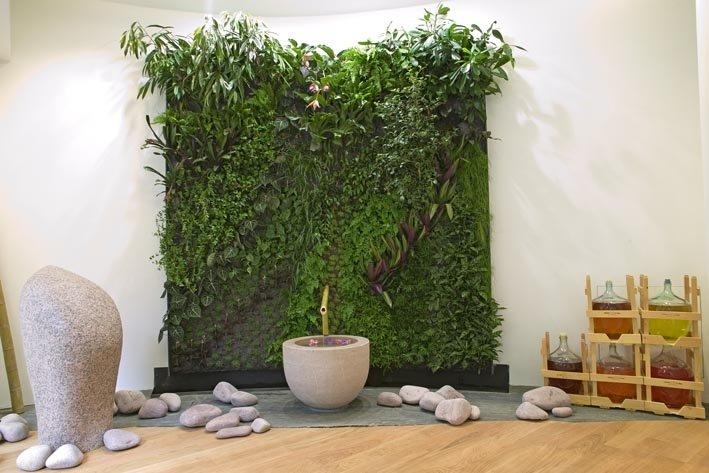 Weleda paris mur vegetal patrick blanc - Mur vegetal patrick blanc ...