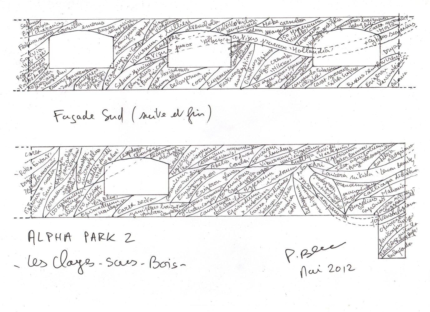 Alpha Park 2, Les Clayes sous Bois  Vertical Garden Patrick Blanc ~ Alpha Park Les Clayes Sous Bois