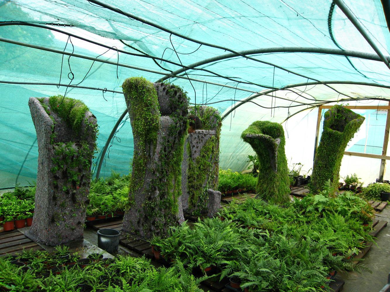 Вертикальные сады Патрика Бланка / Patrick Blanc Вертикальные сады технология Сады мира Здания с вертикальным озеленением Вертик