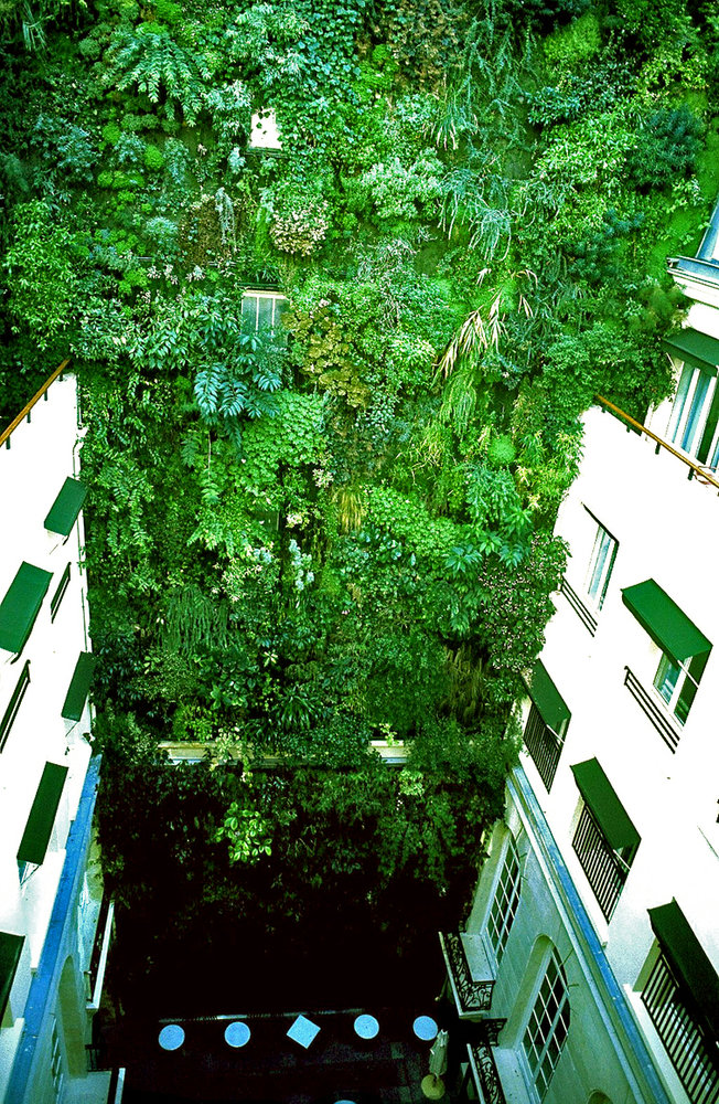Pershing Hall Hotel Paris Vertical Garden Patrick Blanc