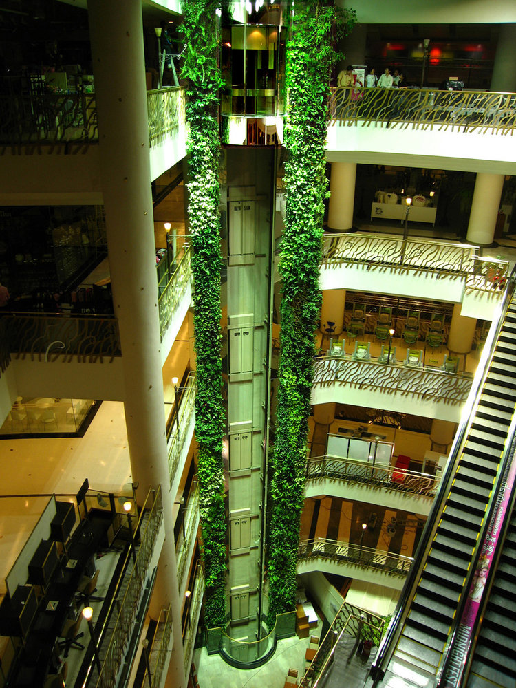 Emporium shopping mall elevator - Garden center madrid ...