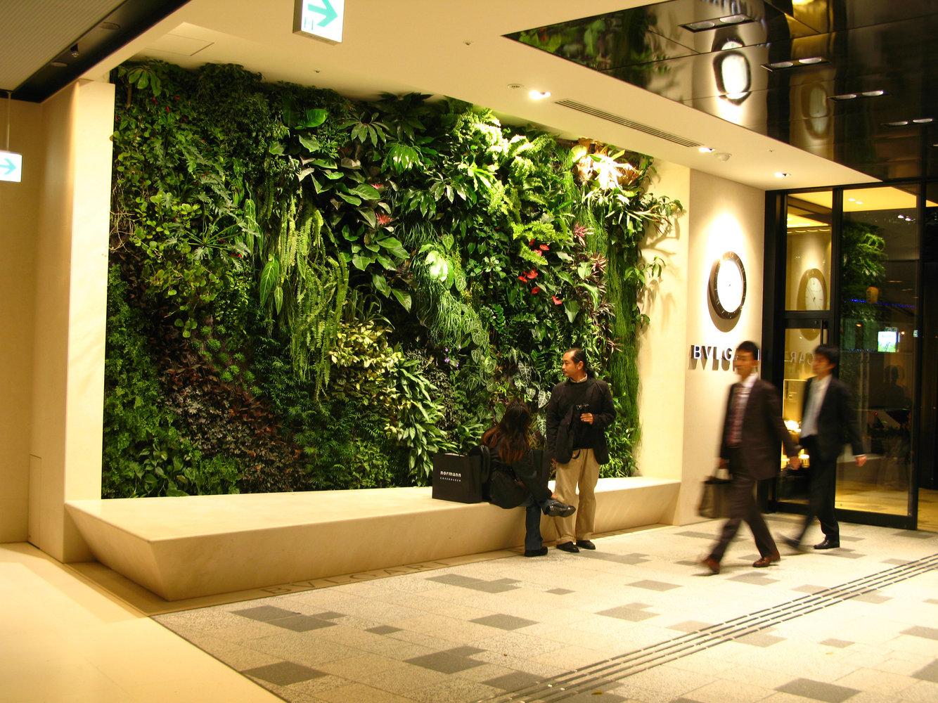 Omote Sando Gyre Tokyo Vertical Garden Patrick Blanc
