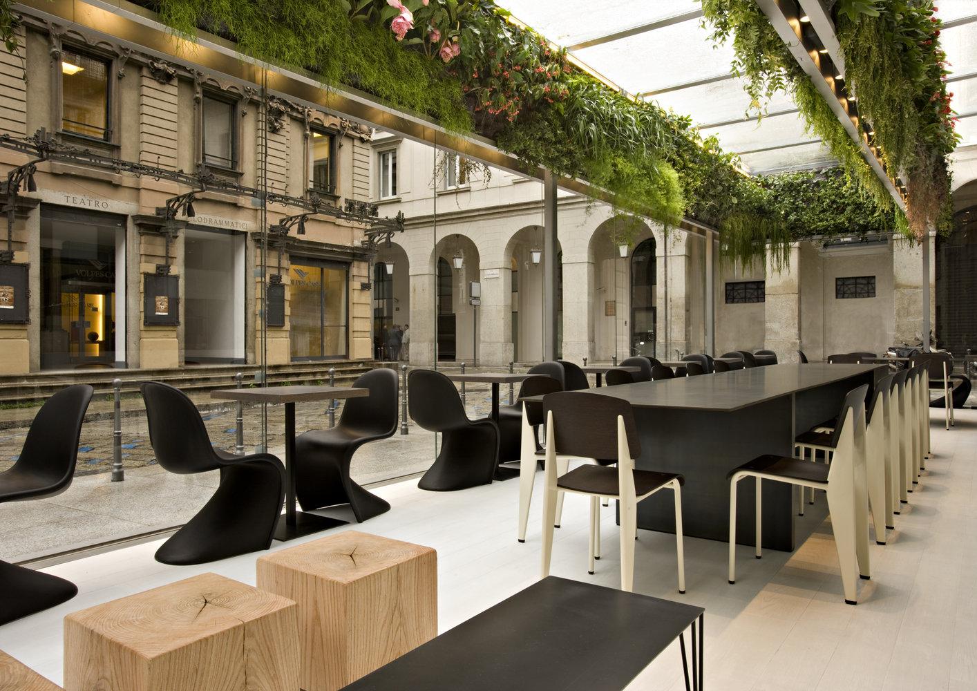 Caf trussardi milan - Interior design cafe milano ...