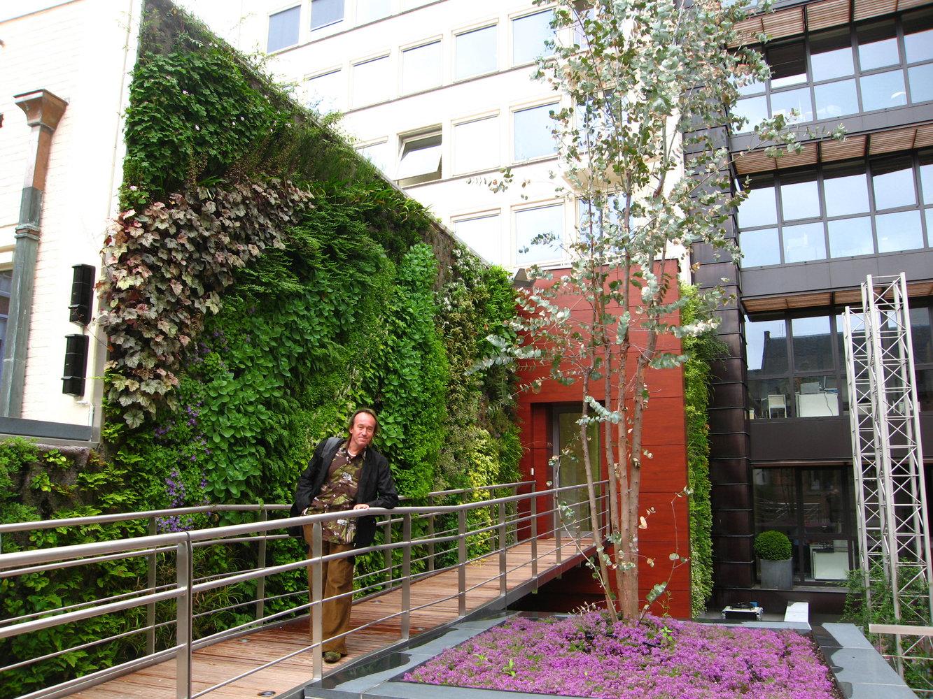 Parlement De Bruxelles Vertical Garden Patrick Blanc