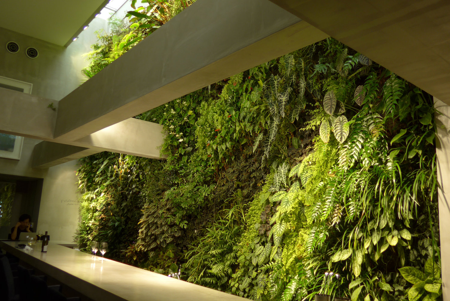 Garden Bush: Vertical Garden Patrick Blanc
