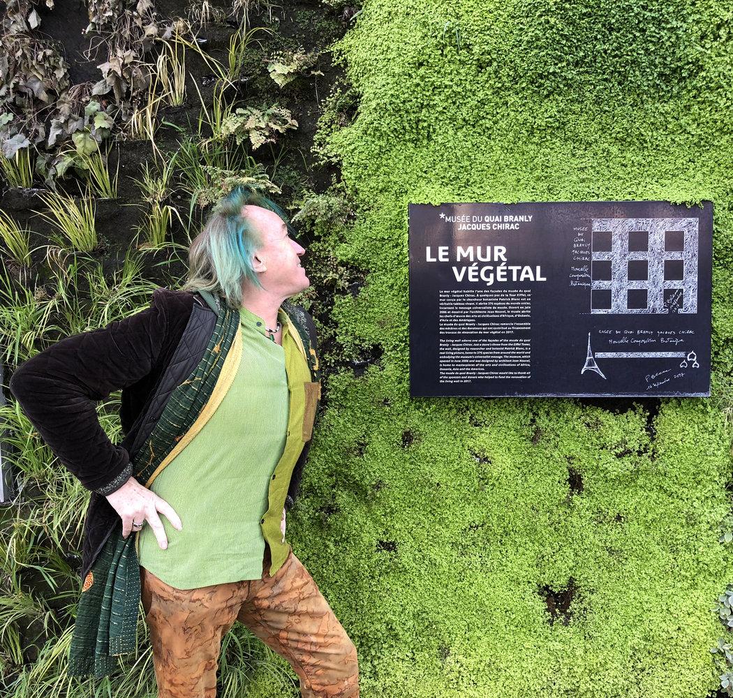 Quai Branly Museum | Vertical Garden Patrick Blanc