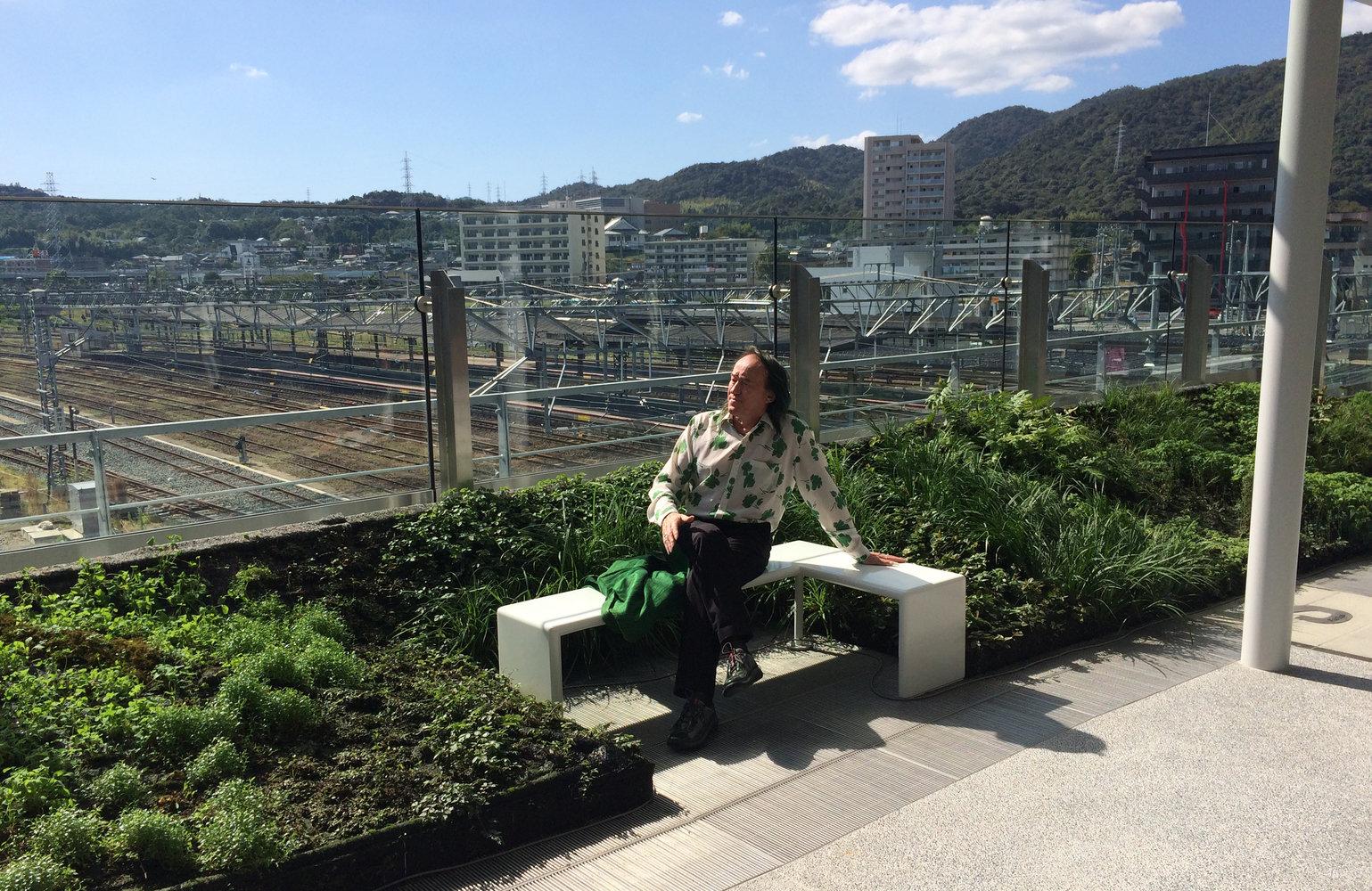 ShinYamaguchi Station Vertical Garden Patrick Blanc