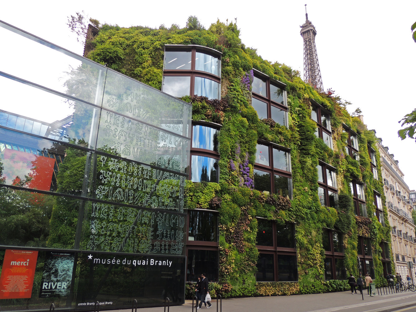 Quai branly museum vertical garden patrick blanc for Jardin quai branly