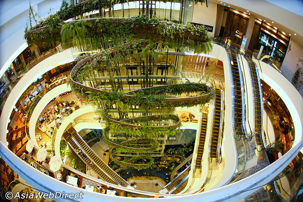 EmQuartier Bangkok Vertical Garden Patrick Blanc