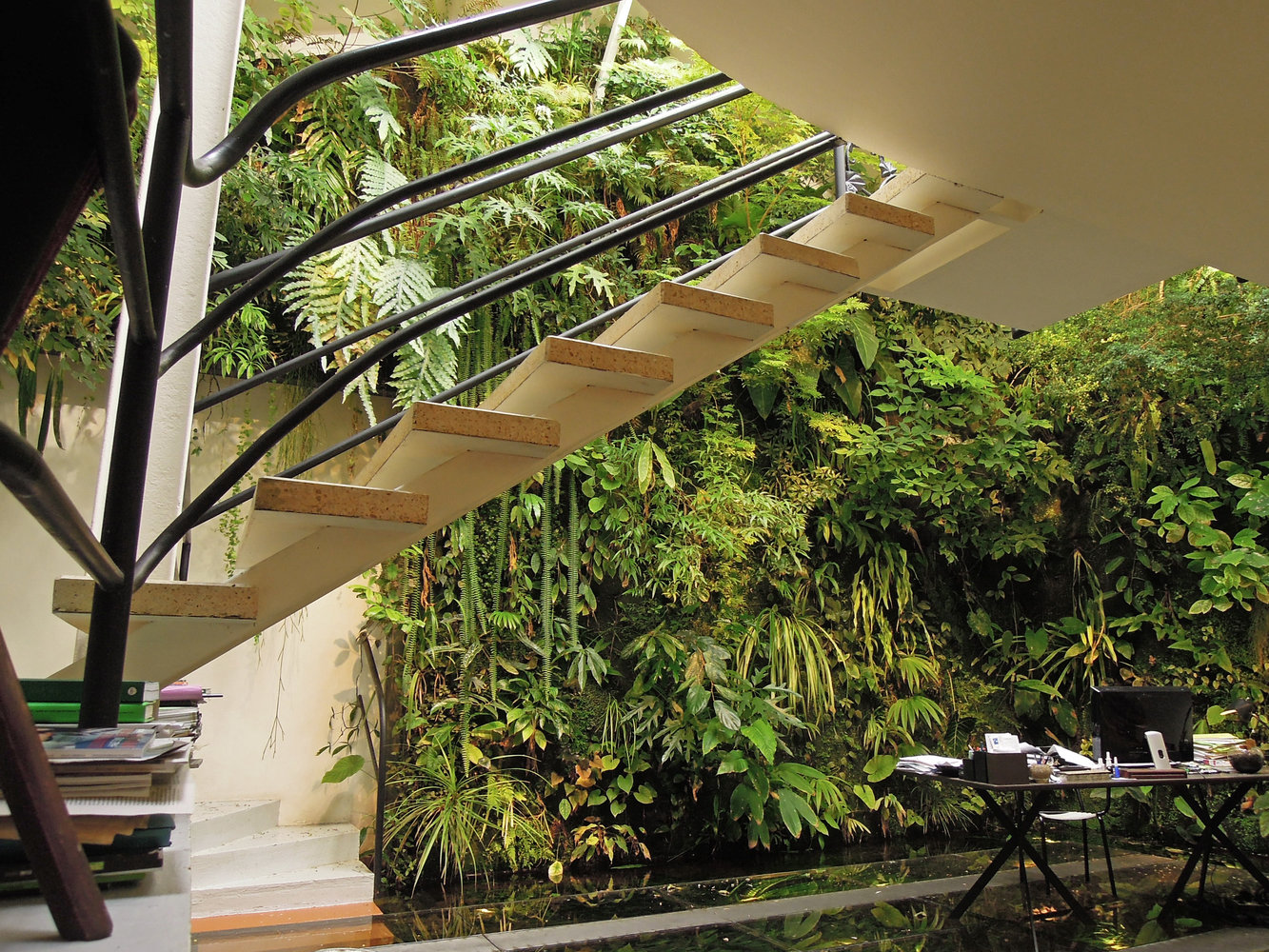 Patrick Blancs house Vertical Garden Patrick Blanc