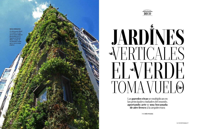 Vertical garden patrick blanc for Jardines verticales